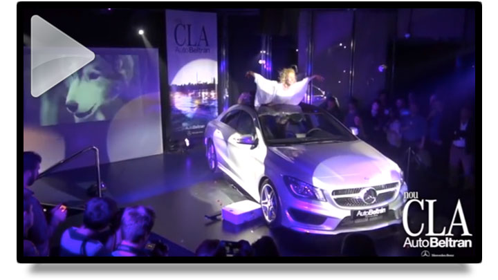 CLICK to watch the video of Mercedes CLA Official Presentation in Barcelona